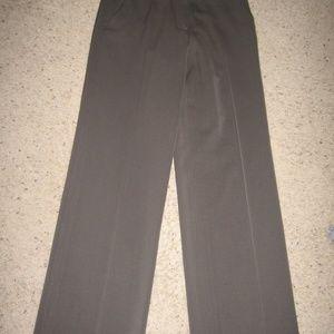 Armani Collezioni Womens Flat Front Pants 4